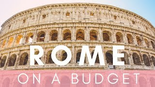 ROME ON A BUDGET | ROME VLOG | Lucy Jessica Carter