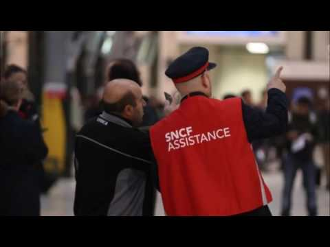 France industrial unrest: Open-ended strike brings rail misery