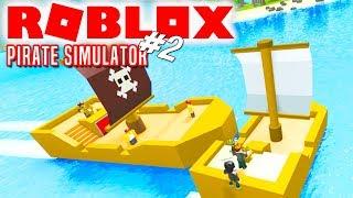 ANGRIBER ANDRE PIRATER! - Roblox Pirate Simulator Dansk Ep 2