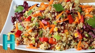 How to Make Rainbow Quinoa Salad Recipe