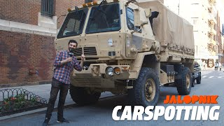 We Found Military Trucks In The Streets Of Manhattan | Carspotting