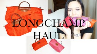Longchamp Haul 💝 HAULWEEK 💝 #4