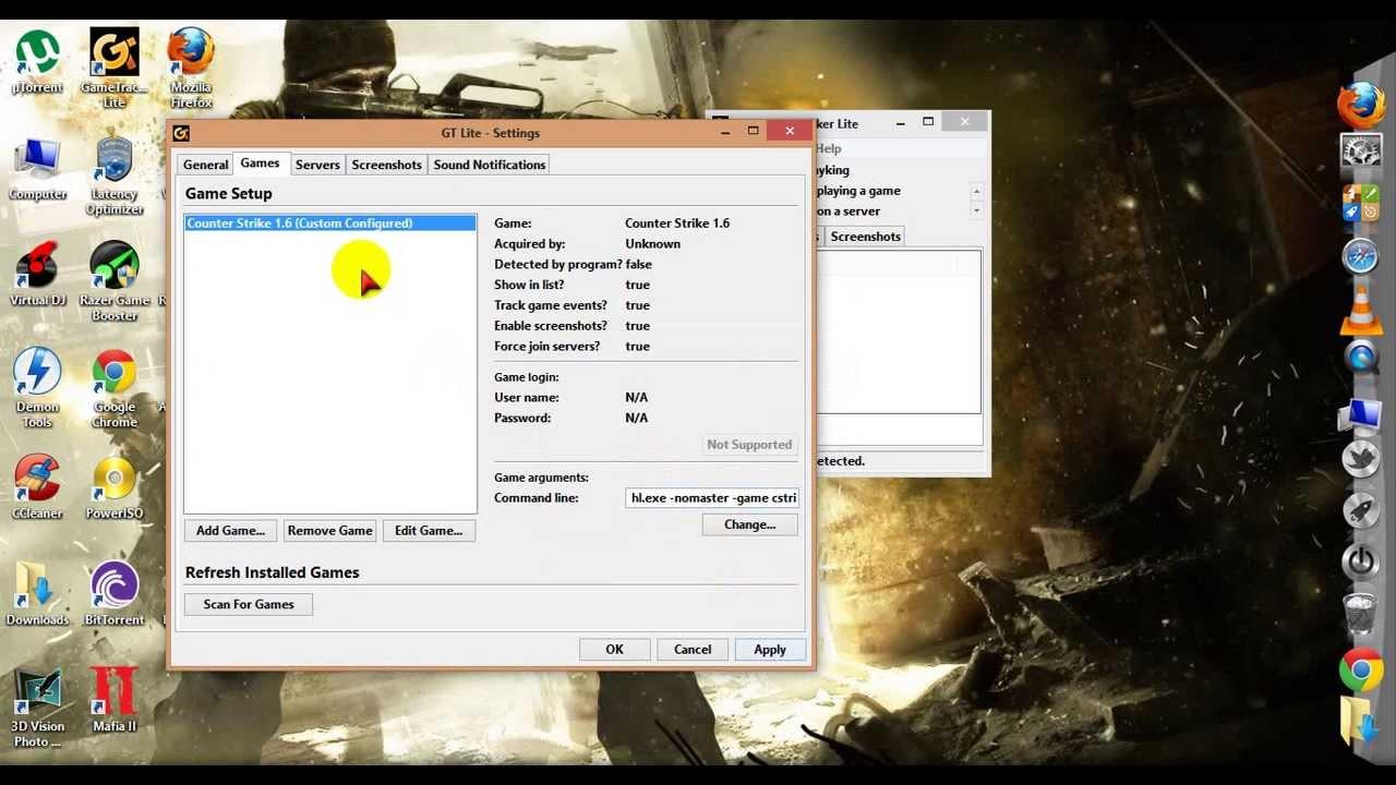 gametracker download