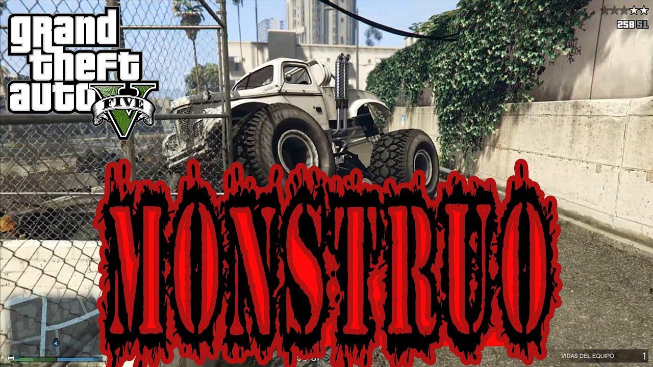 MONSTRUOSO EN GTA V ONLINE
