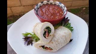 How to make a TURKEY WRAP - 99 CENTS ONLY store meal deal recipe