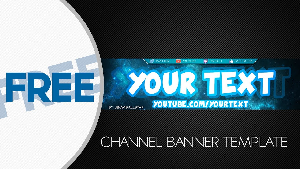 youtube channel banner template - Keni.candlecomfortzone.com