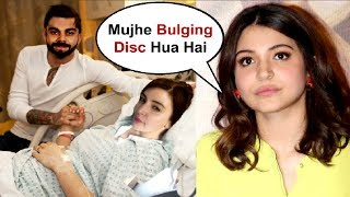 Anushka Sharma Suffering From Bulging Disk