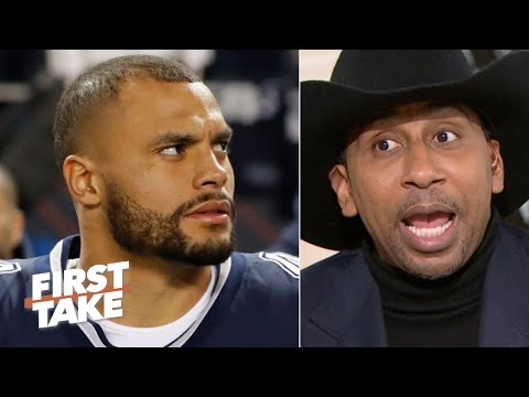 Stephen A. blames Dak Prescott for the Cowboys loss to the Bears | First Take
