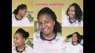 5 Easy Natural Hairstyles to Try