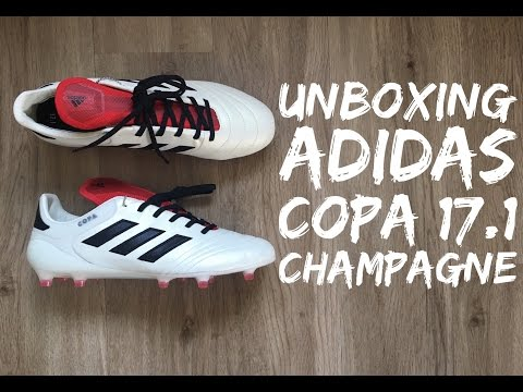 new arrival 79e08 88f28 Adidas COPA 17.1 FG Champagne Pack LTD  UNBOXING  football boots   brand new 2017  HD
