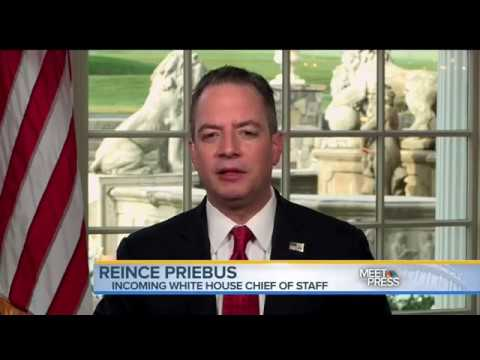Video: Incoming White House Chief of Staff Reince Priebus Refuses to Rule Out Muslim