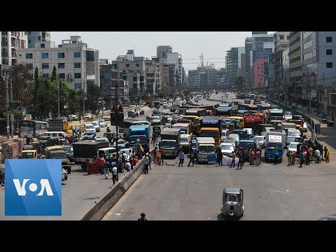 Coronavirus: Bangladesh Garment Workers Protest During Lockdown