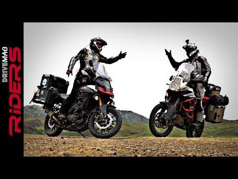 V-Strom 1000 vs. KTM 1190 Adventure R in Mongolia. Testimonial