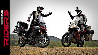 V-Strom 1000 vs. KTM 1190 Adventure R in Mongolia. Testimonial