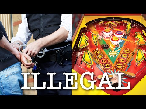 69 People Arrested For Playing Pinball
