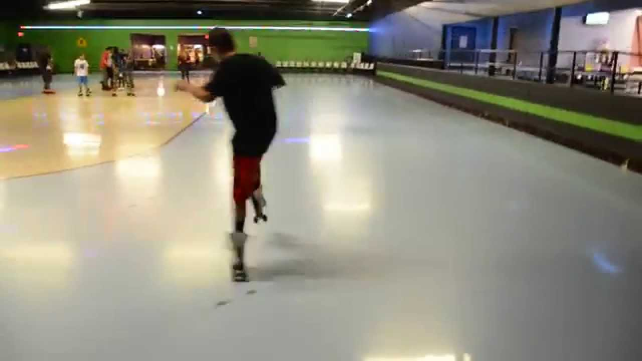 Roller skating rink quad cities - Quad City Cuttaz J Prodigy Practicing At Skate City