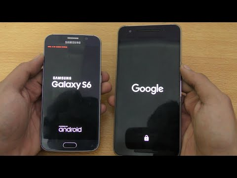 Nexus 6P vs Samsung Galaxy S6 - Speed & Camera Test (4K)