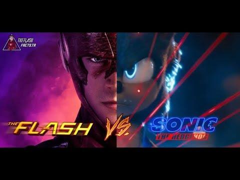 Sonic vs The Flash (Incredible Race!)