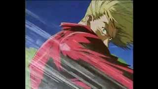 "Vash vs Knives pelea final ""Trigun"""