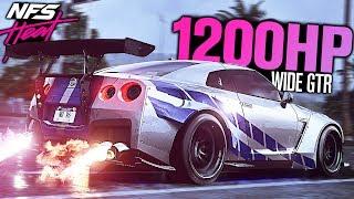 Need for Speed HEAT - 1200HP Nissan GTR Widebody CUSTOMIZATION!