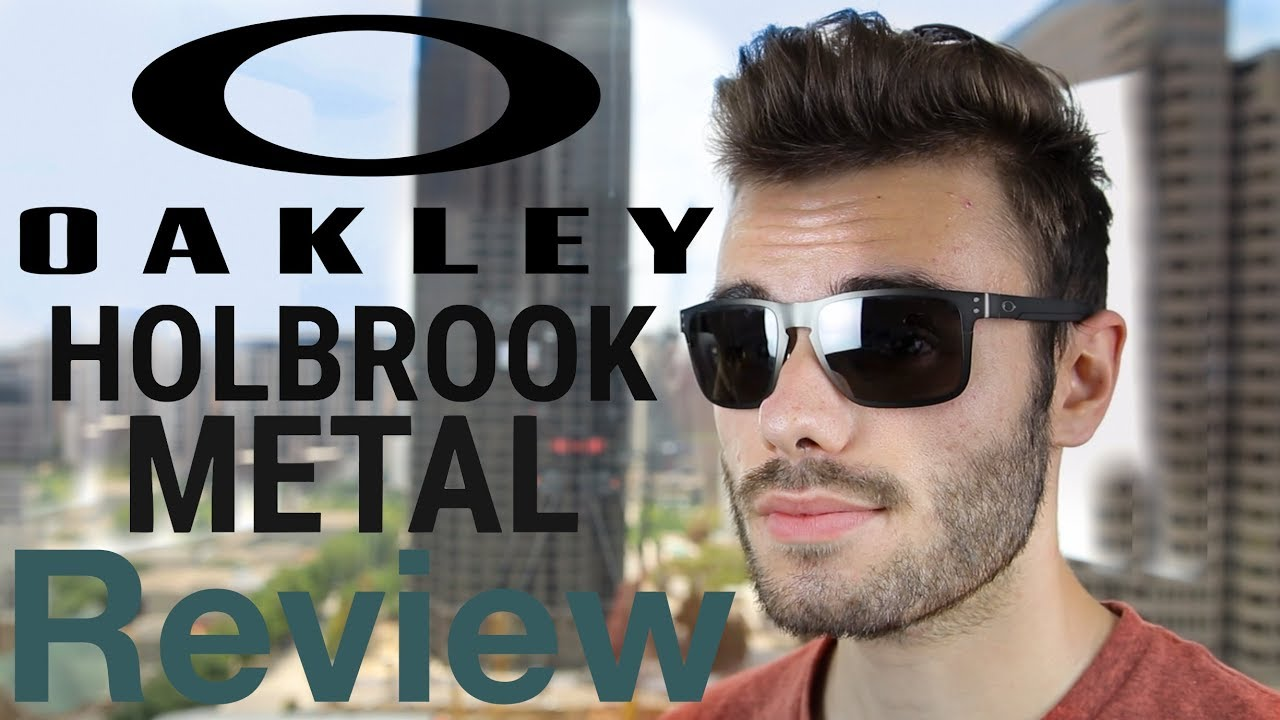 9362fc983c6e9 Oakley Holbrook Metal PRIZM Review - YouTube