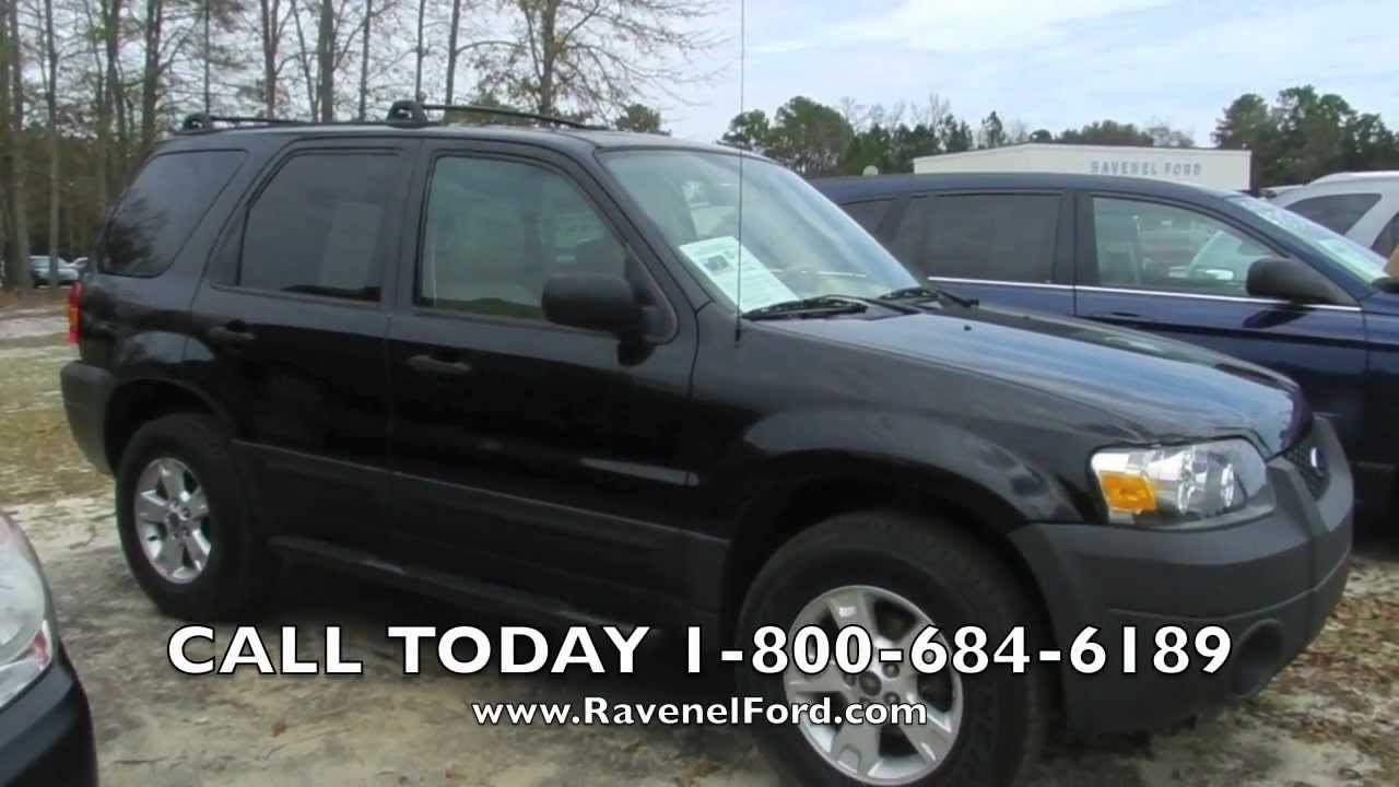 2006 Ford Escape Review Xlt Leather Moonroof For Ravenel Charleston
