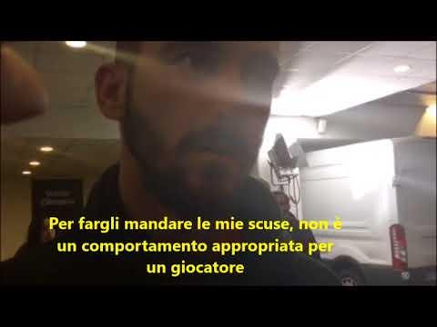 "Intervista al Chucky Ferreyra post Roma-Shakhtar: ""Le mie scuse al raccattapalle"""