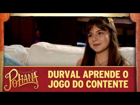 Poliana ensina o Jogo do Contente para Durval | As Aventuras de Poliana