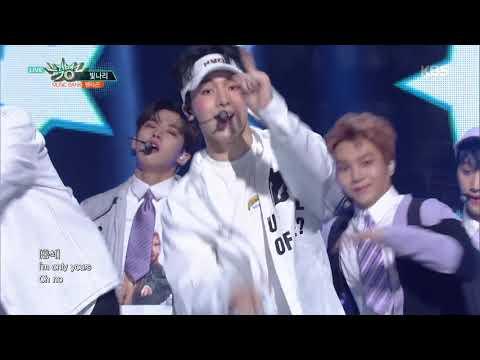 뮤직뱅크 Music Bank - 빛나리 - 펜타곤 (Shine - PENTAGON).20180427