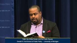 .@fordschool - Joshua DuBois: Faith, the White House, and the Public Square