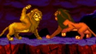 Lion King (Genesis) All Bosses (No Damage)