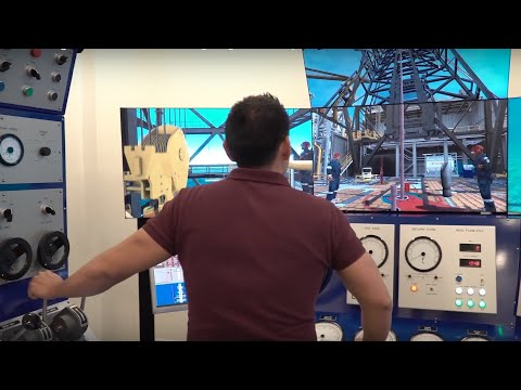 Drilling simulators are supporting students theoretical training with hands-on practical skills