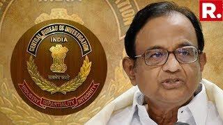 CBI Arrests P Chidambaram From His Residence   #ChidambaramArrested