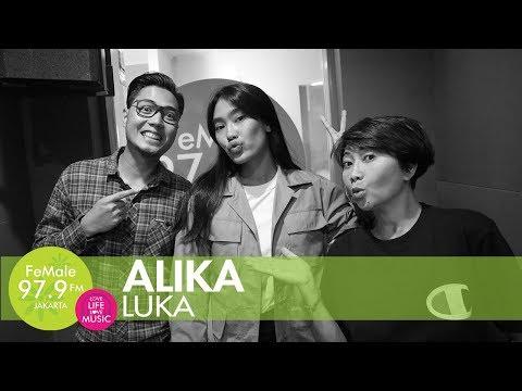 Alika - Luka (LIVE) di The New #HappyMorning