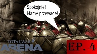 Zagrajmy w Total War ARENA #4   Falanga, nieszczęsna falanga... (2017)