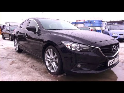 2013 Mazda 6. Supreme Plus. Start Up, Engine, and In Depth Tour.