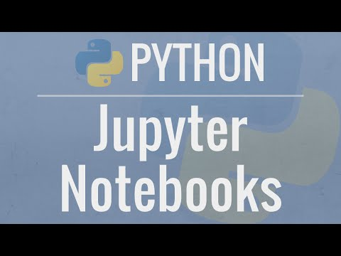 Jupyter Notebook Tutorial: Introduction, Setup, and Walkthrough by Corey Schafer on YouTube