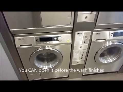 Doing Self-Service Laundry in Amsterdam (Laundromat)
