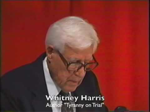 Whitney Harris 2001 on Robert H. Jackson Letter