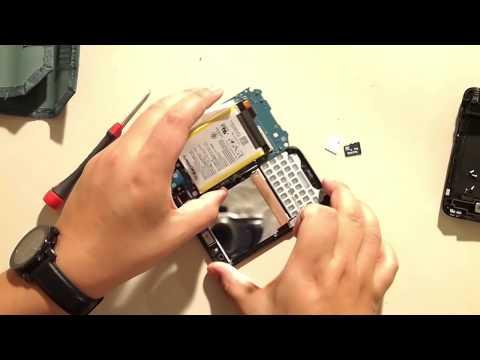 Blackberry Q5 Take apart tutorial, screen replacement, q5 repair
