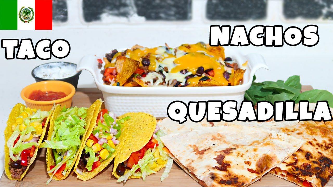 3'ü 1 Arada EVDE TACO, NACHOS  ve QUESADİLLA TARİFİ | En popüler Meksika Yemekleri Nasıl Yapılır?