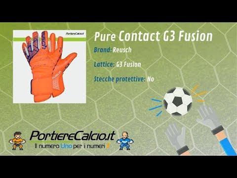 Guanti portiere Reusch Pure Contact G3 Fusion