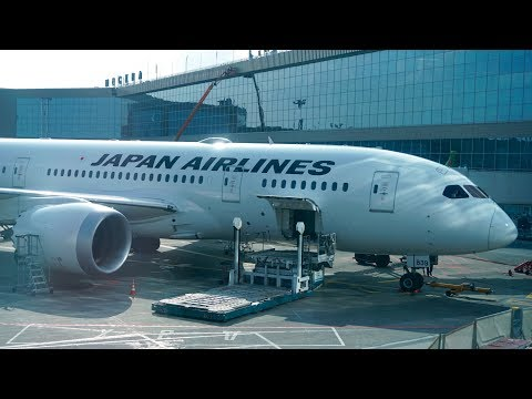 Japan Airlines New 'Sky Suite'  Business Class Review - B787-8 Dreamliner - Moscow to Tokyo