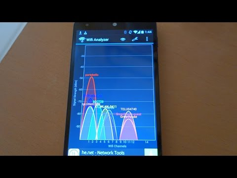 Get How to use Wifi Analyzer app on Android Tutorial demo by geoffmobile Snapshots