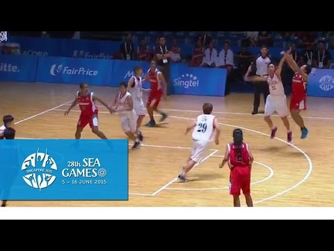 Basketball Women Malaysia vs Indonesia (Day 4) | 28th SEA Games Singapore 2015