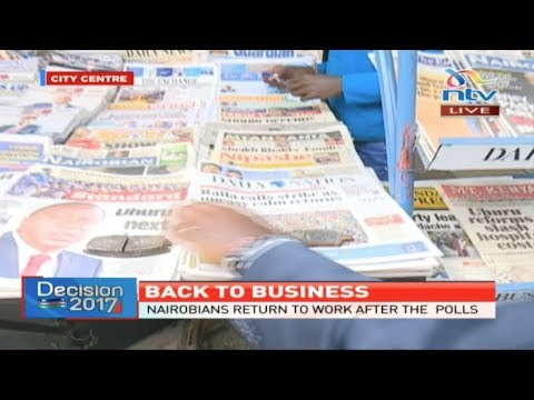 Grab your copy of the Daily Nation newspaper before they run out