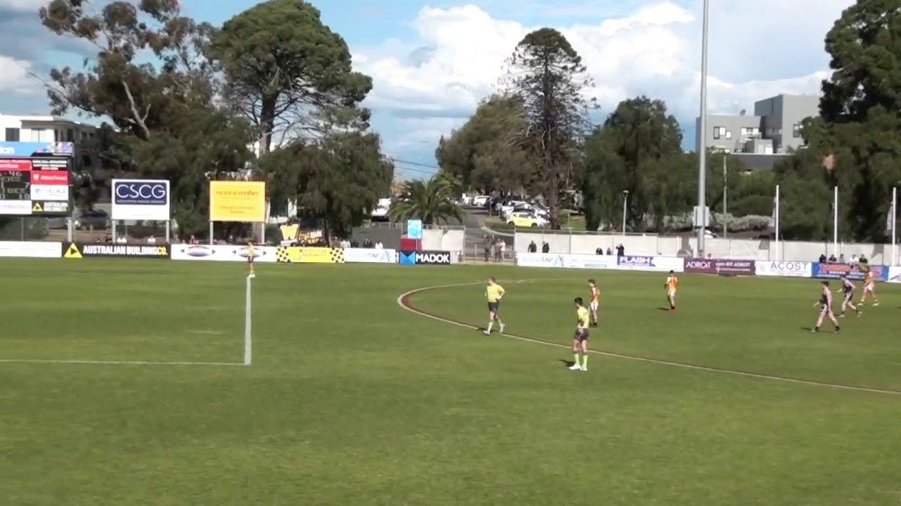 EF  Hoppers Crossing Goals From Stoppage