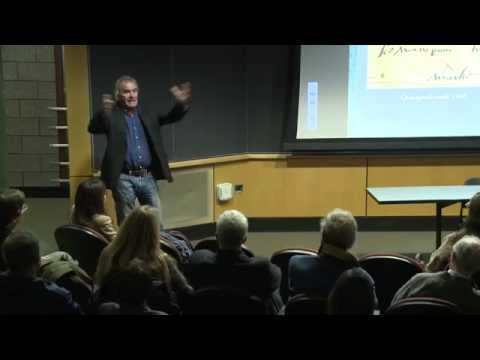 Kevin McBride Lecture at the Haffenreffer Museum of Anthropology