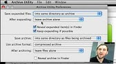 Unarchiving Mac Problem - YouTube