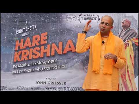 Iskcon Temple Punjabi Bagh Live ft. Hare Krishna Movie ft. HG Amog Leela Prabhu